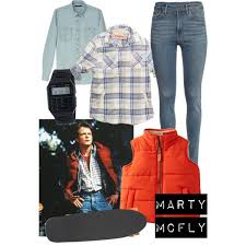 marty mcfly costume easy costumes marty mcfly polyvore