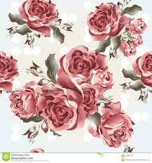 White Rose Bedroom Wallpaper Floral Seamless Vector Wallpaper Pattern With Roses In Vintage S