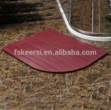 Plastic Bathroom Flooring by Non Slip Plastic Wood Floor Mat For Shower Tray Bathroom Floor