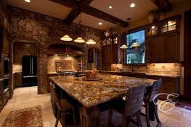 copper canyon granite kitchen mediterranean with countertops