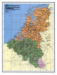 belgium and netherlands map detailed political and administrative map of belgium netherlands