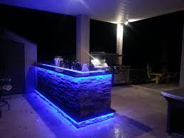 Kitchen Led Lighting Outdoor Kitchens With Led Lighting 36 Photos Premier Outdoor
