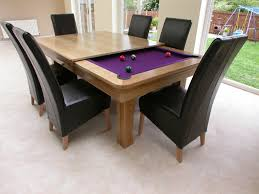 pool tables dining with modern black armless chair feat purple