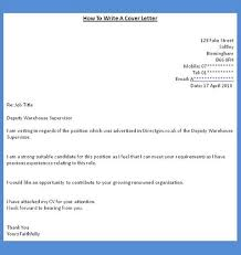how to do a cover letter for a job cover letter job application