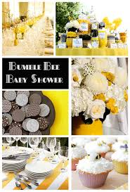 bumblebee baby shower bumble bee themes baby shower