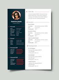 free resume template word australia free creative resume template word free minimal resume template 3