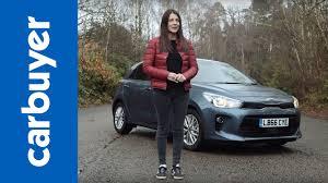 hatchback cars kia kia rio 2017 hatchback review carbuyer youtube