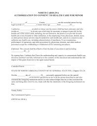 free north carolina guardian of minor power of attorney form pdf
