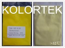 thermochromic paint additives heat sensitive pigment color change