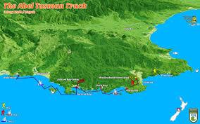 Kayak Map Abel Tasman National Park Walks Map Image Gallery Hcpr