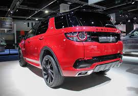 land rover discovery 2016 red frankfurt 2015 land rover discovery sport hse dynamic lux gtspirit