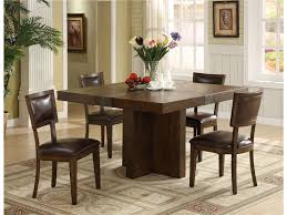 Square Dining Room Tables For 8 Plain Design Square Dining Room Tables Pretty Inspiration Square