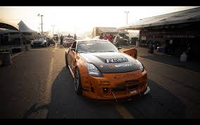 custom black nissan 350z formula drift ready 350z