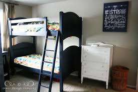 Pottery Barn Camp Bunk Bed The Boys U0027 Room Design Board Jones Design Company