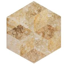 merola tile retro hex cendra 14 1 8 in x 16 1 4 in porcelain