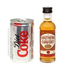 Sothern Comfort Southern Comfort Liqueur U0026 Diet Coke Miniature U0026 Mini Can Set