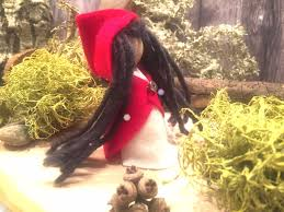 how to make little red riding hood puppet tutorial youtube