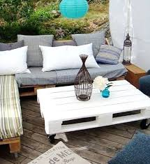 canapé exterieur en palette salon exterieur palette photo dun salon de jardin en palettes sur
