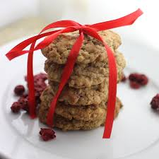 gift cookies gift ideas cranberry and white chocolate oatmeal cookies