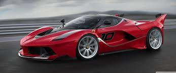 red ferrari red ferrari fxx k sports car high speed 4k hd desktop wallpaper