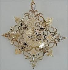 baldwin brass ornaments snowflakes