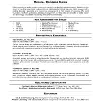 Job Application Resume by Impressive Administrative Clerk Resume Examples To Help You Create