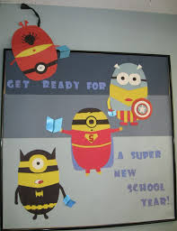 Display Board Decoration On New Year by Best 25 Minion Bulletin Board Ideas On Pinterest Minion