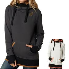 fox motocross jacket fox racing perimeter women u0027s ladies fall casual pullover top