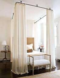 curtain over bed drapes over bed wolflab co