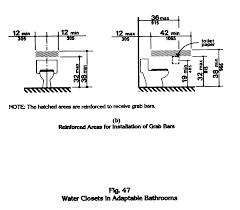 Ada Bathroom Sign Height by Ada Toilet Grab Bars Requirements Best Bathroom Decoration