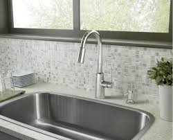 moen kitchen faucet with soap dispenser faucet 87066 in chrome by moen