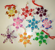 handmade beaded ornaments rainforest islands ferry