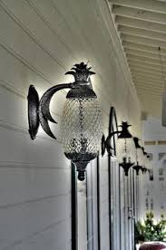 pineapple outdoor light fixtures here s a porch light that doesn t look like all the other porch