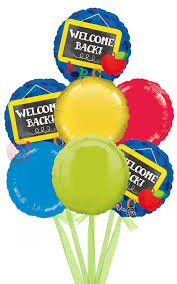 inflated balloons delivered welcome back to school inflated welcome helium balloon delivered
