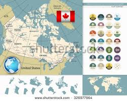 canadian map canadian map stock images royalty free images vectors