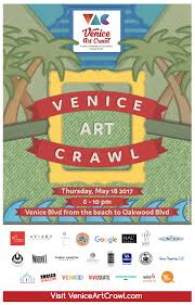 Map Of Venice Beach Second Venice Art Crawl Of 2017 Takes Place May 18th Support Our