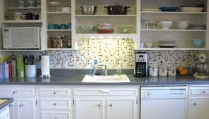 Kitchen Without Cabinet Doors Ideas For Kitchen Cabinets Without Doors Cliff Kitchen Design