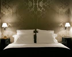 Wallpaper For Bedrooms Bedroom Luxurious Home Decorating For Hotel Modern Bedroom