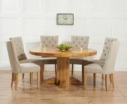 Oak Dining Tables For Sale Astonishing Oak Dining Table And Fabric Chairs 55 About Remodel