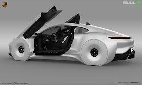 porsche 911 concept cars 2020 porsche 911e by emrehusmen electric 911 emre husmen