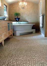 river rock bathroom ideas river rock floor tile carpet flooring ideas