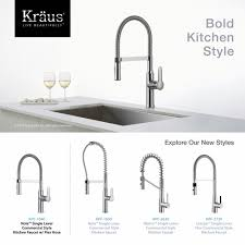 New Kitchen Faucet by Kitchen Faucet Kraususa Com
