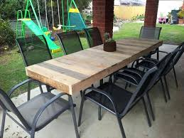 Plans For Wood Patio Table by Patio Easy Patio Table Plans Diy Outdoor Dining Tables 1