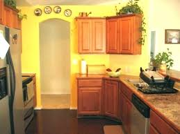 yellow kitchen wood cabinets 18 delightful yellow kitchen wall décor ideas to impress