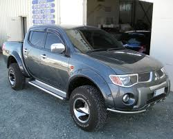 mitsubishi warrior 2010 wide fender flares wheel arches for mitsubishi l200 warrior triton