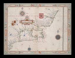 Newfoundland Map Portuguese Map Of Newfoundland And Labrador From The Atlas Of