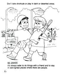 coloring pages water safety safety coloring pages safety coloring pages stranger safety coloring