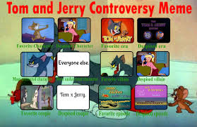 Tom And Jerry Meme - tom and jerry controversy meme by bcf164 by bobclettfan164 on