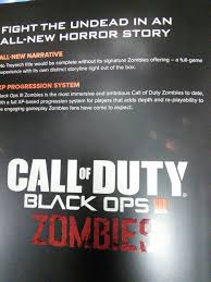 Call Of Duty Black Ops Zombie Maps Call Of Duty Black Ops Iii Release Date Details And Beta Leaked