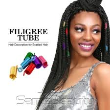 hair decoration braid ring hair decoration filigree mixed color